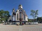 Мемориал погибшим сотрудникам милиции и Свято-Игоревский храм